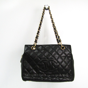 Chanel Petite · Timeless Tote PTT A18004 Caviar Leather Handbag Black