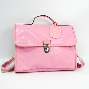 グッチ(Gucci) GGインプリメ キッズ 271102 ガールズ PVC,レザー リュックサック ピンク