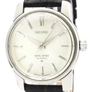 セイコー(Seiko) キングセイコー 手巻き ステンレススチール(SS) メンズ ドレスウォッチ 44-9990