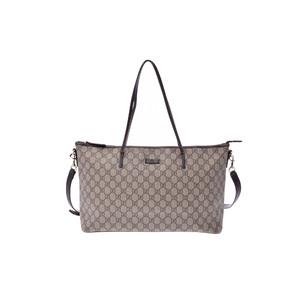 Gucci GG Supreme PVC Tote Bag GG Beige