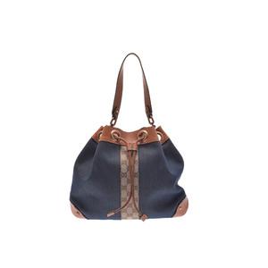 Gucci Shoulder Bag Denim Shoulder Bag Blue