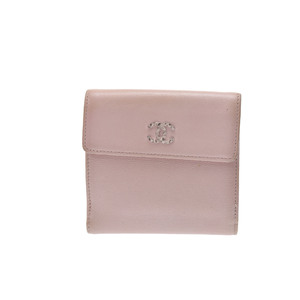 Chanel Brilliant Wallet Caviar Leather Bill Wallet (bi-fold) Pink