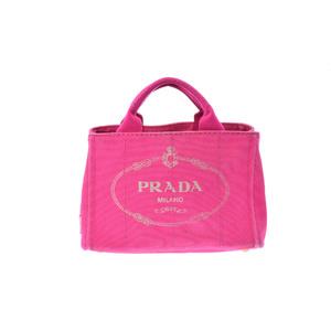プラダ(Prada) カナパ レディース カナパ,キャンバス トートバッグ Peonia(ぺオニア),ピンク