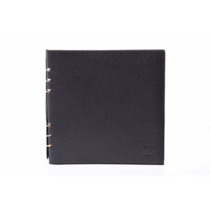 ルイ・ヴィトン(Louis Vuitton) レザー ノートブック ブラック Van de Lady