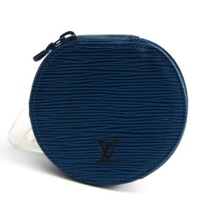 Louis Vuitton Epi Jewelry Case Ecrin bijoux 10 M48215 Toledo blue Epi leather