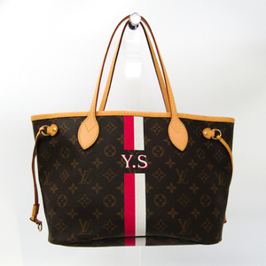 eb523c3db7f7 Louis Vuitton Mon Monogram Neverfull PM M40155 Women s Tote Bag Blanc