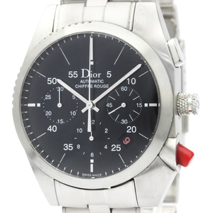 Christian Dior Chiffre Rouge Steel Automatic Watch CD084610