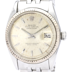Rolex Datejust Automatic Stainless Steel,White Gold Dress Watch 1601