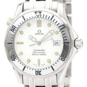 Omega Seamaster Quartz Stainless Steel Men's Sports Watch 2562.20