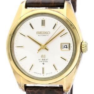 セイコー(Seiko) グランドセイコー 自動巻き ゴールドプレーティング(GP) メンズ ドレスウォッチ 6145-8000