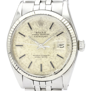 ロレックス(Rolex) デイトジャスト 自動巻き ステンレススチール(SS),ホワイトゴールド(WG) ドレスウォッチ 1601
