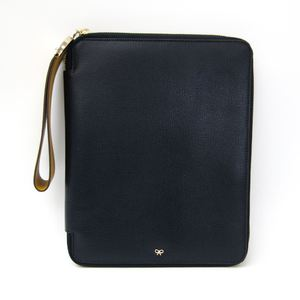 Anya Hindmarch Tablet Case For IPad Navy