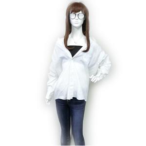 ジバンシィ(Givenchy) レディース カジュアル オックスフォードシャツ (ホワイト)