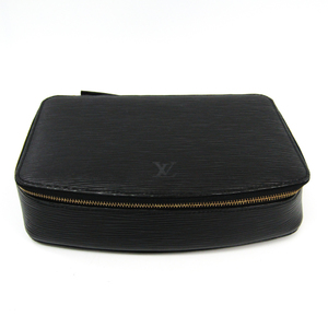 Louis Vuitton Epi Jewelry Case Poche Monte-Carlo M48362 Noir Epi leather