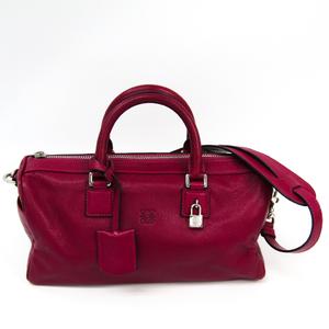 Loewe Women's Leather Handbag Purple