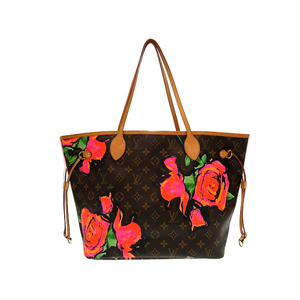 Louis Vuitton Monogram Rose Neverfull MM M48613 Women's Tote Bag Monogram Rose