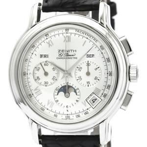 Zenith Chronomaster Moon Phase El Primero Watch 01.0240.410