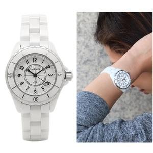 Chanel J12 Quartz Ceramic Women's Casual Watch H0968