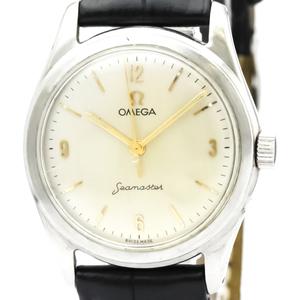 Omega Seamaster Mechanical Stainless Steel Unisex Dress Watch 1647-1