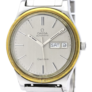 Omega Seamaster Automatic Stainless Steel,Gold Plated Men's Dress Watch 166.0169