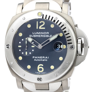 Officine Panerai Luminor Automatic Titanium Men's Sports Watch PAM00106