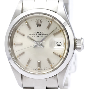 ROLEX Oyster Perpetual Date 6916 Steel Automatic Ladies Watch