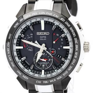 セイコー(Seiko) アストロン GPSソーラー セラミック,チタン メンズ スポーツウォッチ SBXB071(8X53-0AG0)