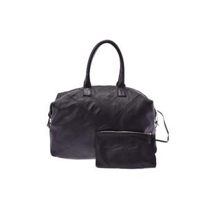 サン・ローラン(Saint Laurent) Handbag レザー ハンドバッグ ブラック