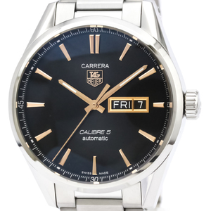 TAG HEUER Carrera Calibre 5 Day Date Automatic Watch WAR201C
