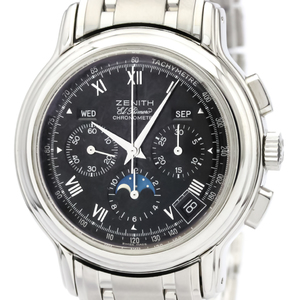 Zenith Chronomaster Automatic Stainless Steel Men's Dress Watch 02.0240.410