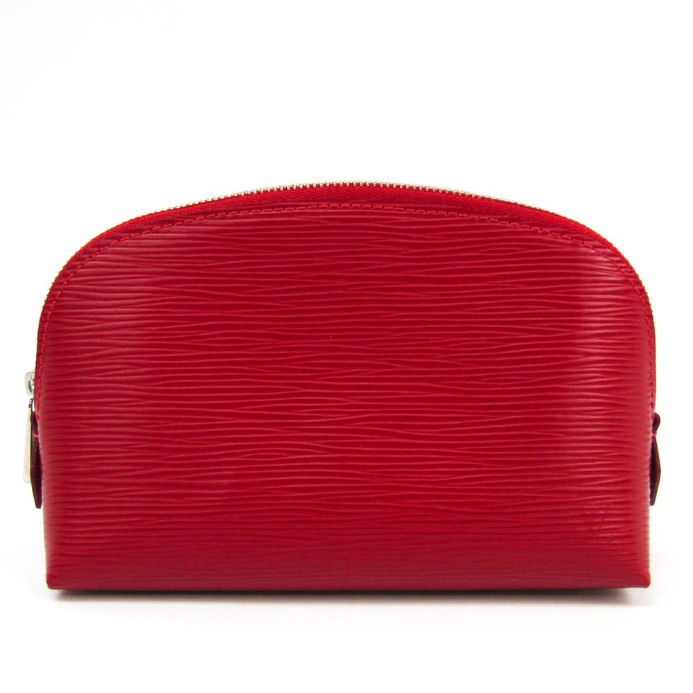 ルイ・ヴィトン(Louis Vuitton) エピ ポシェット・コスメティック M41114 レディース ポーチ コクリコ