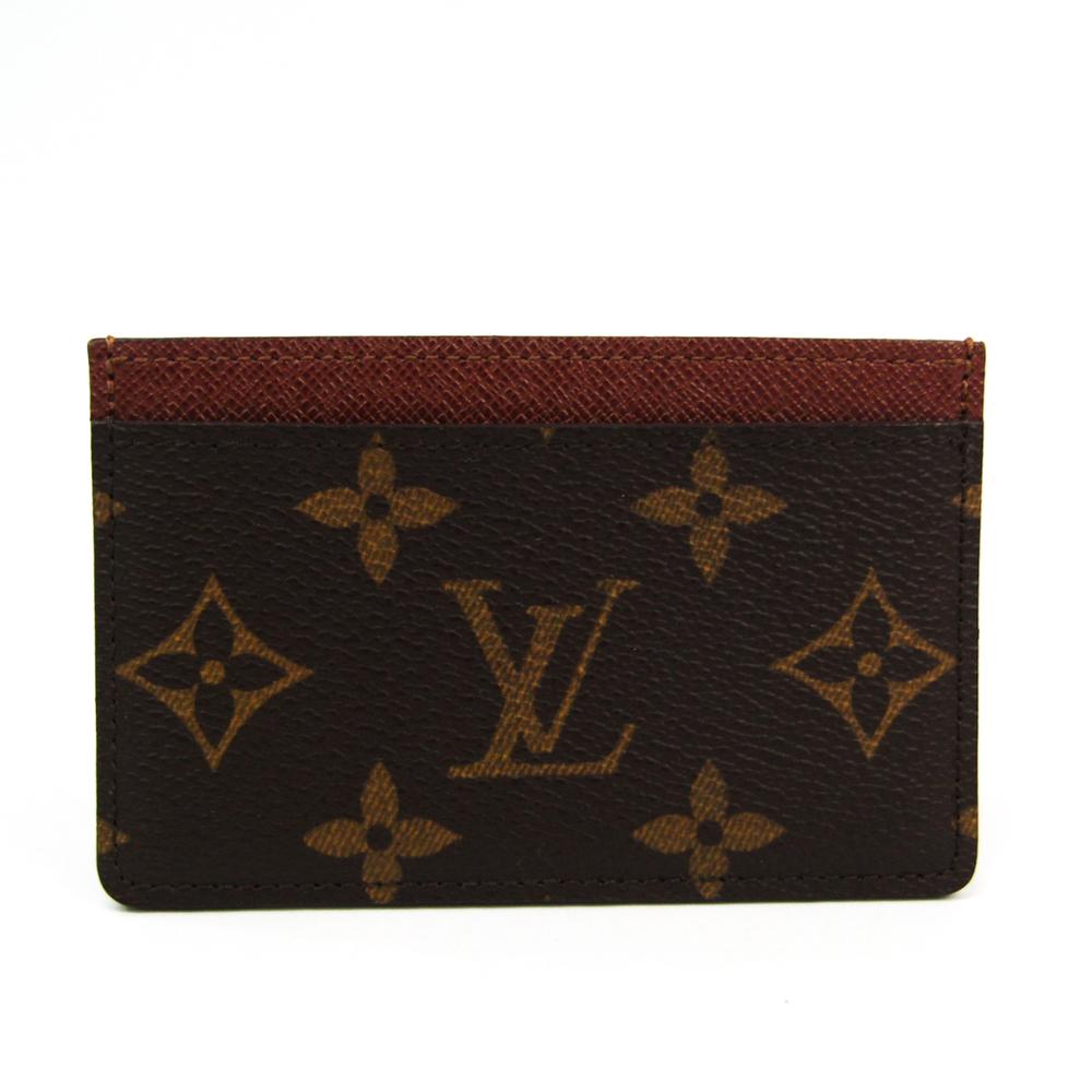 ルイ・ヴィトン(Louis Vuitton) モノグラム モノグラム カードケース モノグラム ポルト カルト・サーンプル M61733