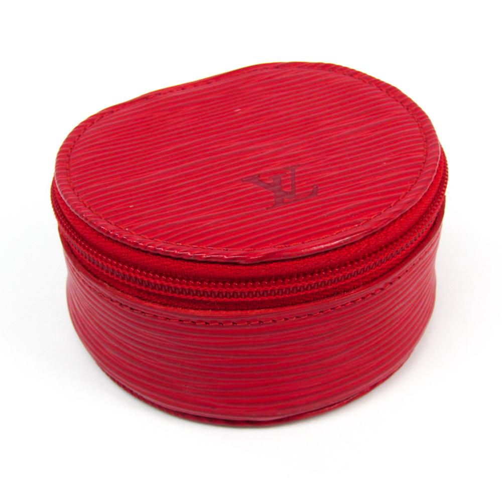 ルイ・ヴィトン(Louis Vuitton) エピ ジュエリーケース エクランビジュー8 M48217 カスティリアンレッド エピレザー