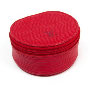 Louis Vuitton Epi Jewelry Case Ecrin bijoux8 M48217 Castilian red Epi leather