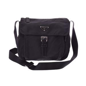 Prada Shoulder Bag Nylon Shoulder Bag Black