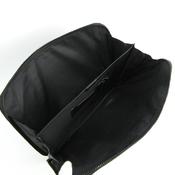 グッチ(Gucci) GGプラス 170063 メンズ PVC ドキュメントケース ダークグレー