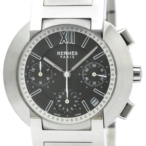 Hermes Nomade Auto Quartz Stainless Steel Men's Sports Watch NO1.910