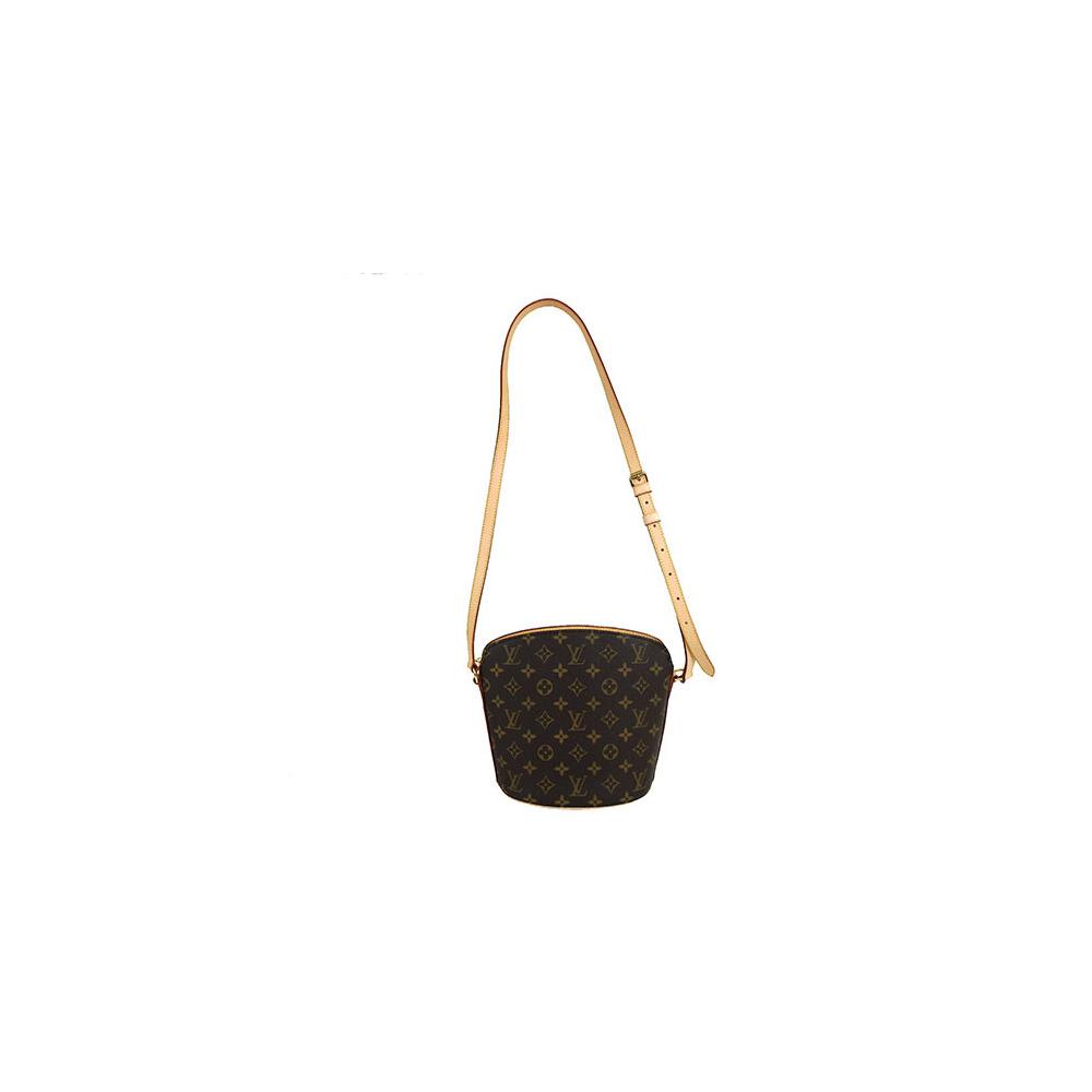 04dbcfc90969 Auth Louis Vuitton Monogram Drouot M51290 Shoulder Bag