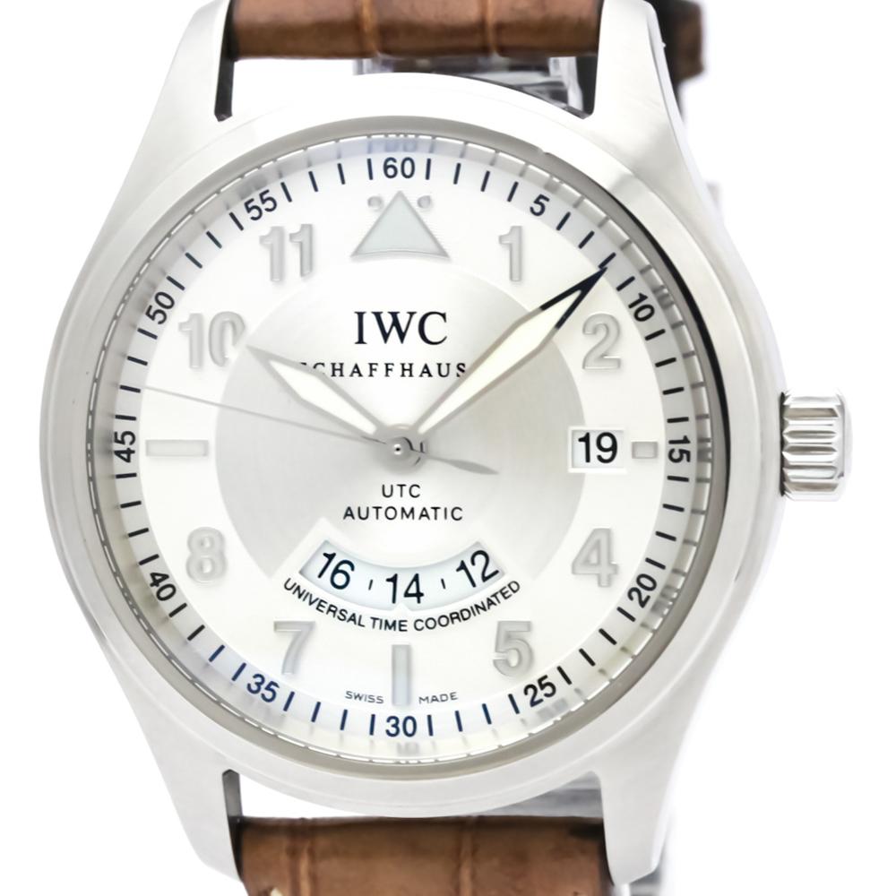 IWC スピットファイア 自動巻き ステンレススチール(SS) メンズ スポーツウォッチ IW325110