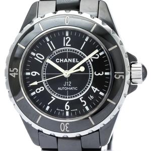 シャネル(Chanel) J12 自動巻き セラミック メンズ スポーツウォッチ H0685