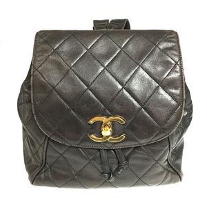 シャネル(Chanel) マトラッセ リュックサック ココマーク レディース レザー
