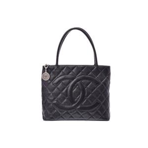 シャネル(Chanel) 復刻トート キャビアスキン 黒 G金具 CHANEL バッグ