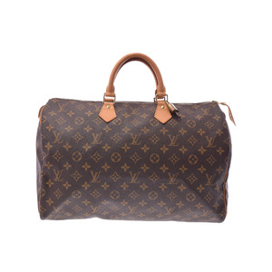 ルイ・ヴィトン(Louis Vuitton) モノグラム スピーディ40 M41106 メンズ バッグ ブラウン