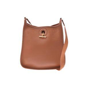 Hermes Vespa PM Leather Bag Gold