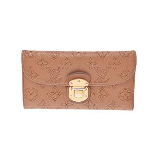 ルイ・ヴィトン(Louis Vuitton) マヒナ M58138  財布 ブラウン