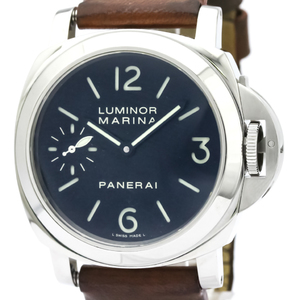 Officine Panerai Luminor Mechanical Stainless Steel Men's Sports Watch PAM00111