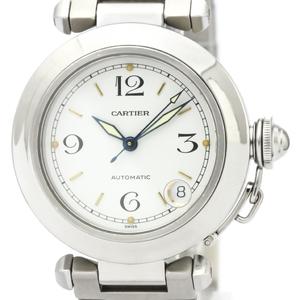 【CARTIER】カルティエ パシャC ステンレススチール 自動巻き ユニセックス 時計 W31015M7
