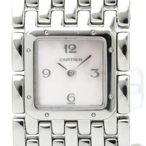 カルティエ(Cartier) リュバン クォーツ ステンレススチール(SS) レディース ドレスウォッチ W61003T9
