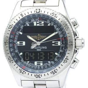 ブライトリング(Breitling) B-1 クォーツ ステンレススチール(SS) メンズ スポーツウォッチ A68062