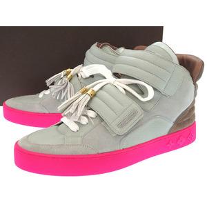 Louis Vuitton Men's Sneakers (Gray,Pink)